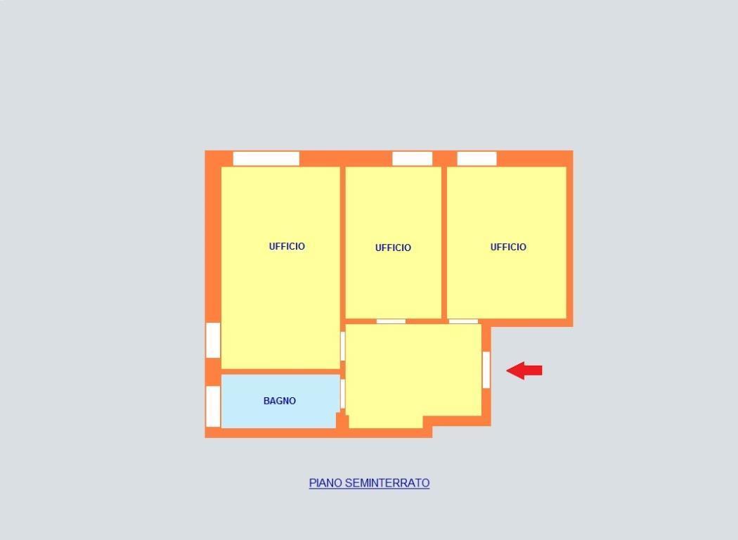 Ufficio-studio in Affitto a Monza: 3 locali, 55 mq