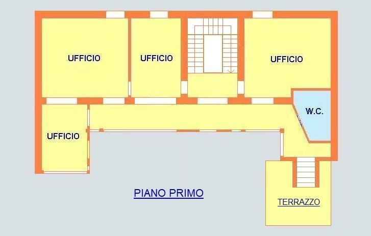 Ufficio-studio in Affitto a Monza: 4 locali, 150 mq