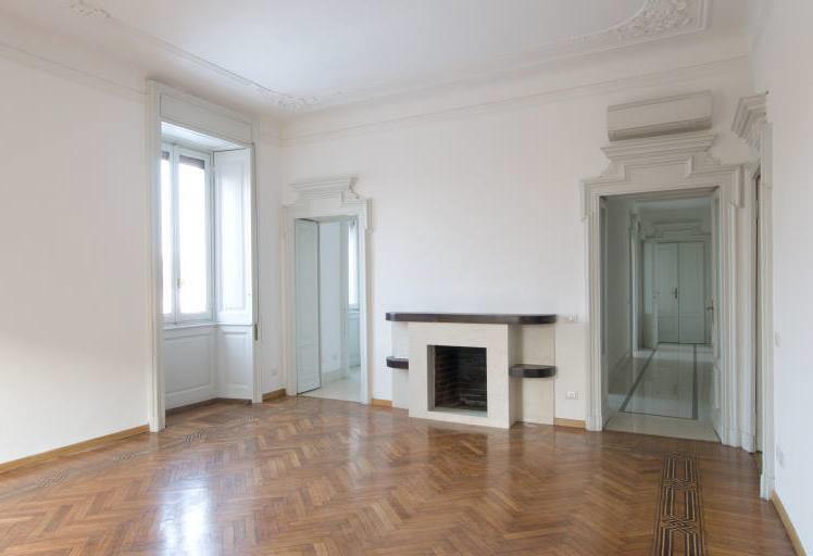 Appartamento in Affitto a Milano 02 Brera / Volta / Repubblica: 4 locali, 130 mq