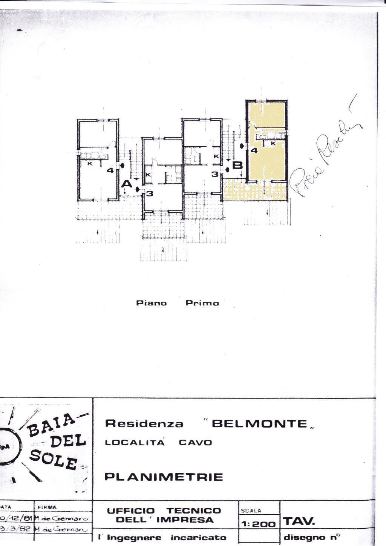 Vendita  bilocale Rio Marina Salita Belmonte 1 1206920