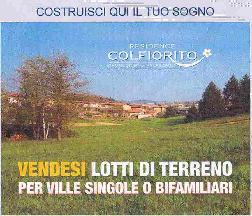 Terreno Edificabile Residenziale in vendita a Palazzago, 9999 locali, zona Località: gromlongo, Trattative riservate | CambioCasa.it