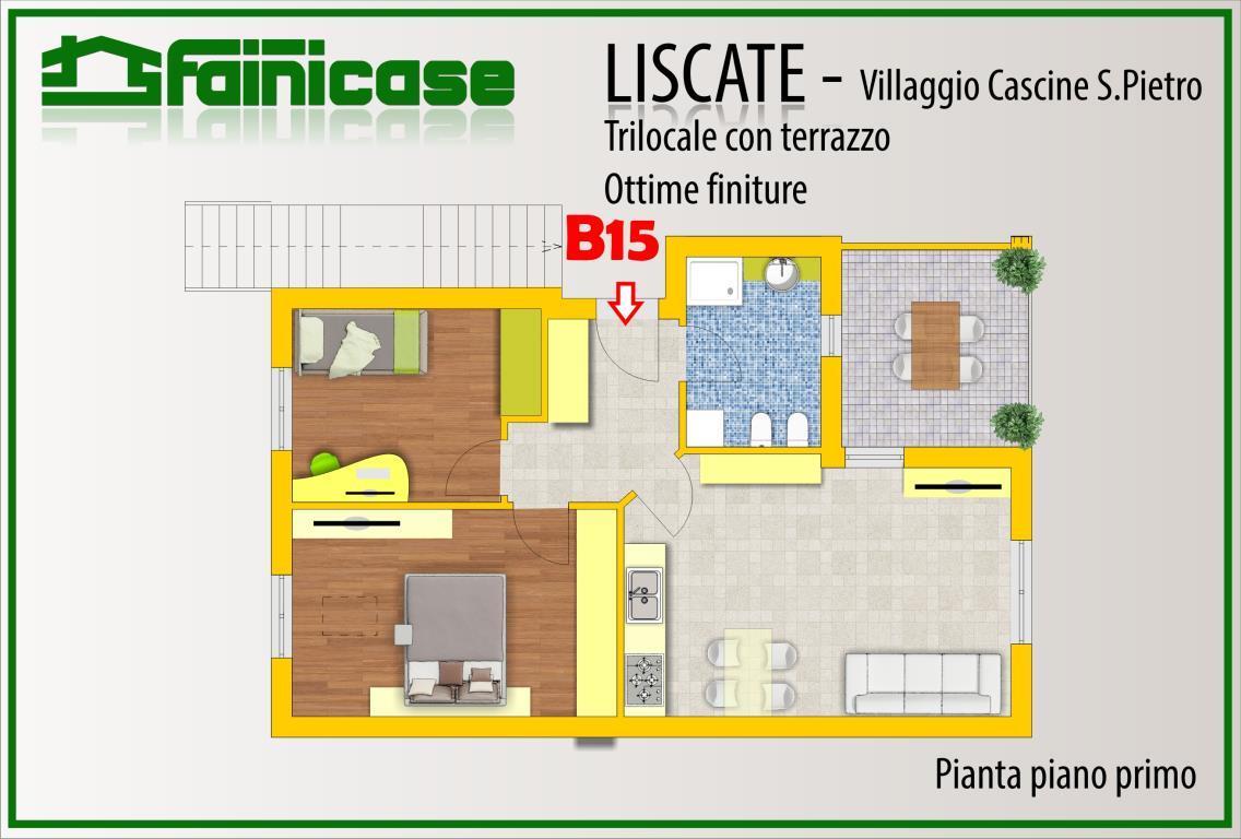 Affitto  bilocale Liscate Via San Paolo Della Croce 12 1 1061581
