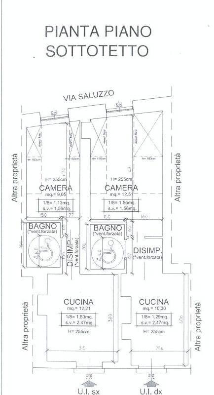 Vendita  bilocale Torino Via Saluzzo 1 1088658