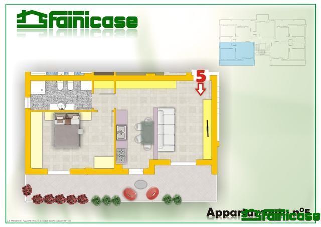 Vendita  bilocale Truccazzano Via Manzoni 16 1 430274