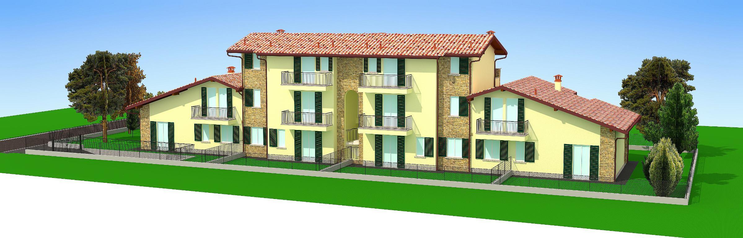 Appartamento in vendita a Bernareggio, 4 locali, zona Località: frazione, prezzo € 270.000 | CambioCasa.it