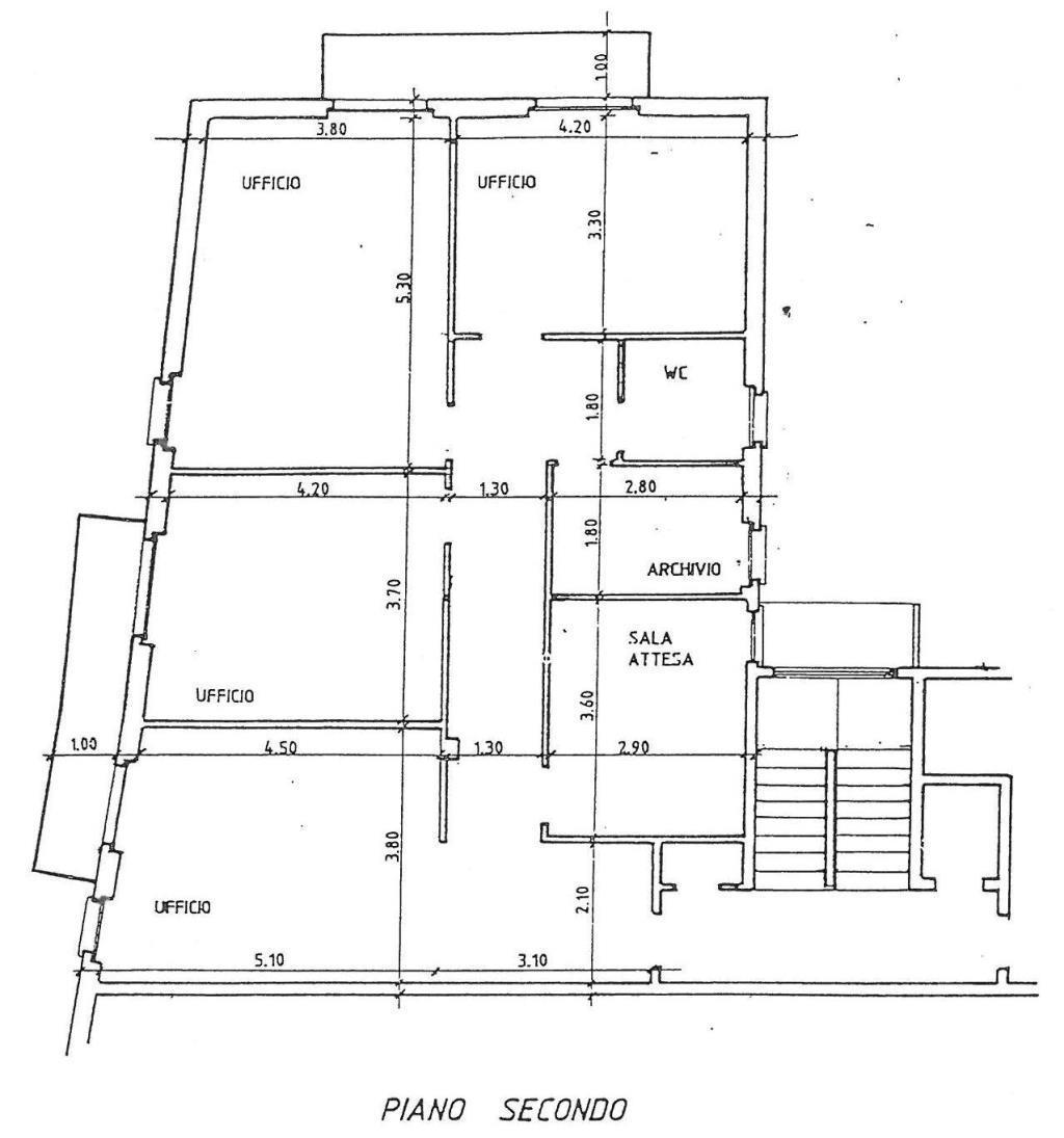 Ufficio / Studio in affitto a Como, 6 locali, zona Località: Centro, prezzo € 1.333 | Cambio Casa.it