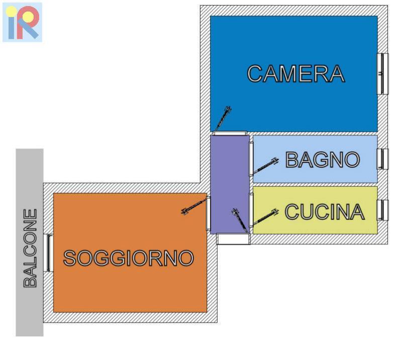 Vendita  bilocale Cinisello Balsamo  1 979374