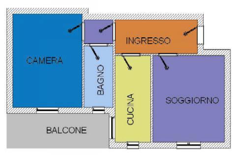 Vendita  bilocale Cinisello Balsamo  1 979371