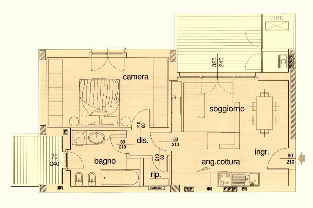 Vendita  bilocale Concorezzo Via Giovanni Pascoli 1 956425