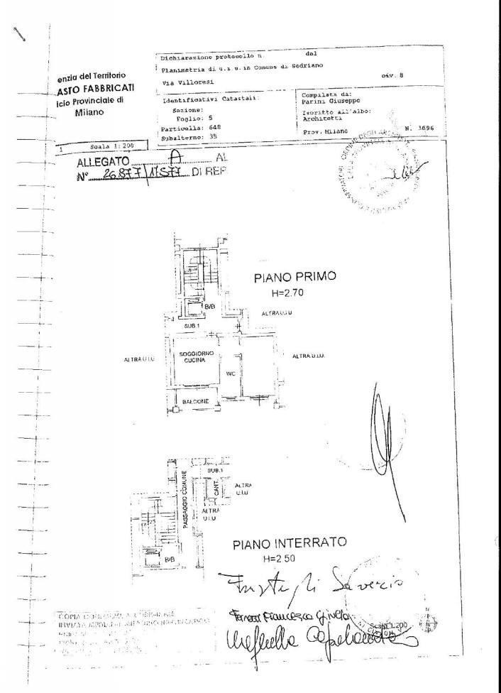 Bilocale Sedriano Via Villoresi 8 1