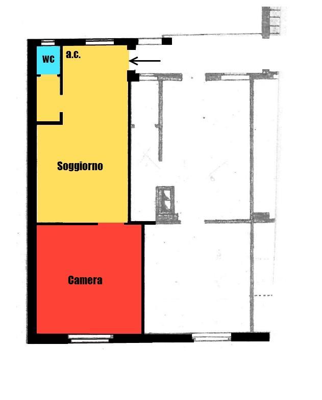 Affitto  bilocale Monza Via Borgazzi 144 1 910328