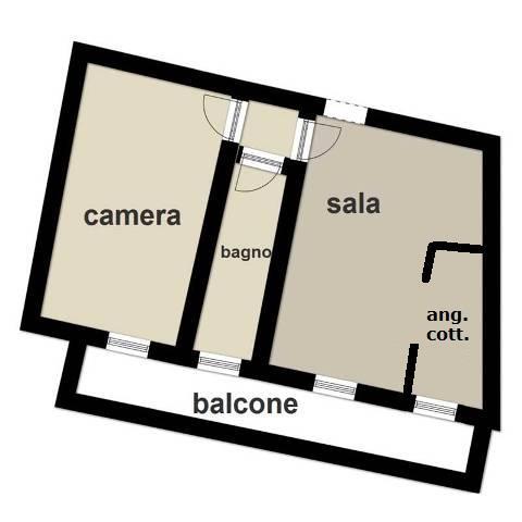 Vendita  bilocale Rapallo Castruccio Via 1 473039