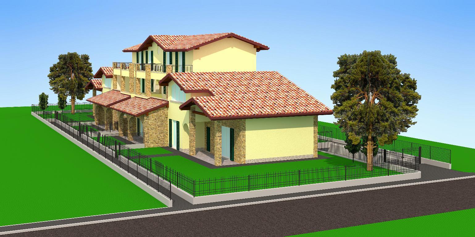 Appartamento in vendita a Bernareggio, 4 locali, zona Località: frazione, prezzo € 270.000 | Cambio Casa.it