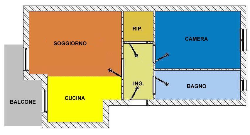 Vendita  bilocale Cinisello Balsamo  1 1281124