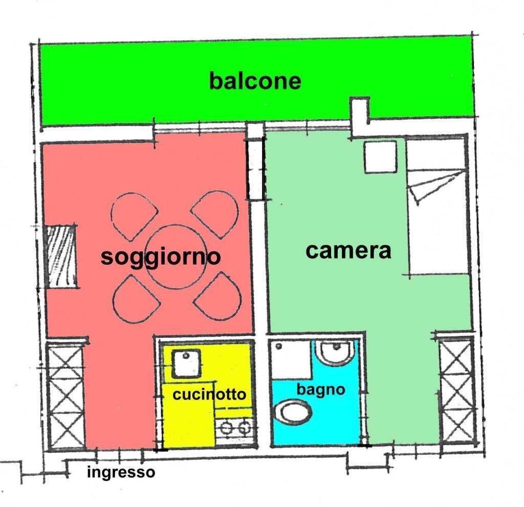 Vendita  bilocale Gardone Riviera Via Al Vittoriale 15 1 941106