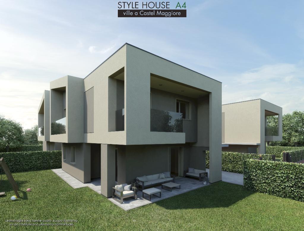 Villa CASTEL MAGGIORE vendita   Via T. Noce FIERMONTE IMMOBILIARE