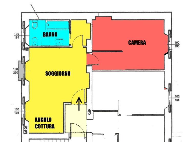 Affitto  bilocale Monza Via Pacinotti 30 1 1067196