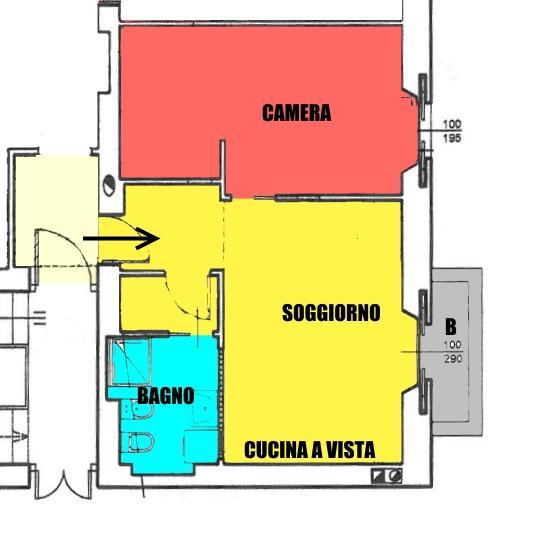 Affitto  bilocale Monza Via Pacinotti 30 1 1067197