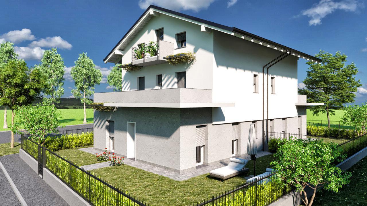 Vendita appartamento Cisano Bergamasco superficie 105m2