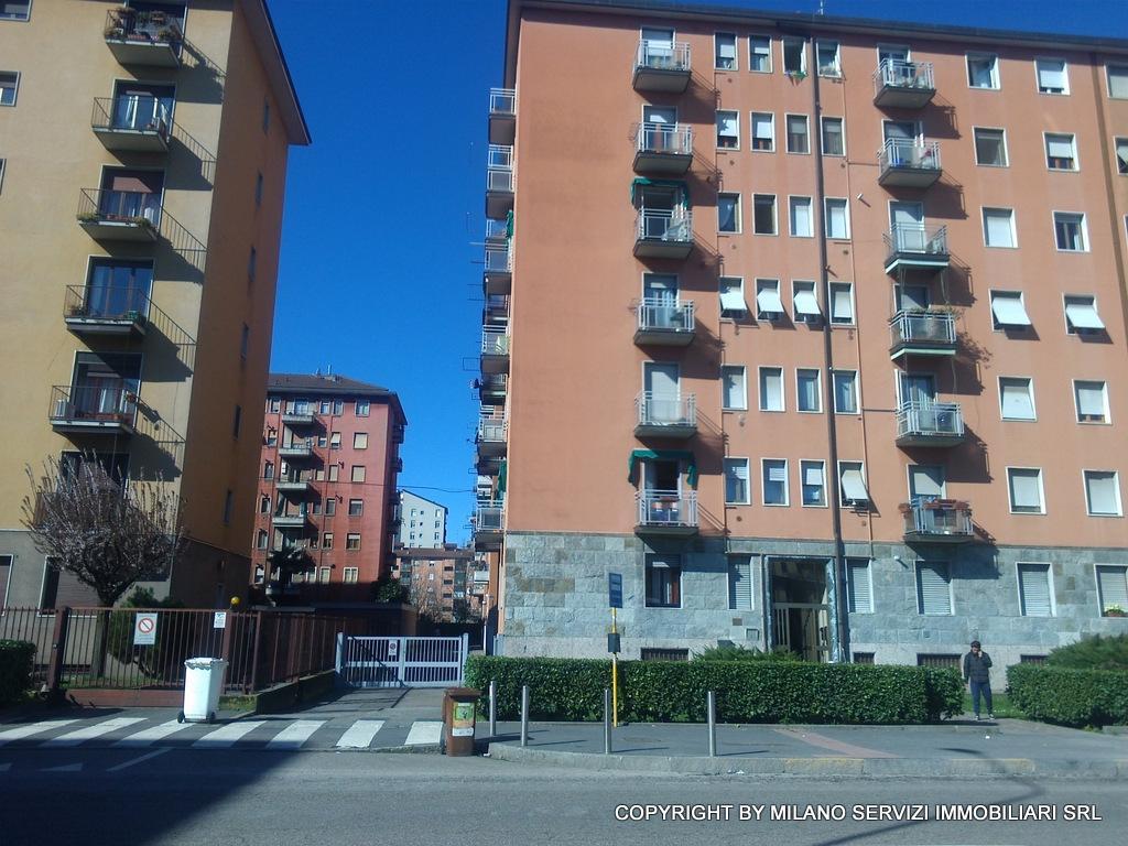 Affitto bilocale Milano Via Sella Nuova, 42 metri quadri