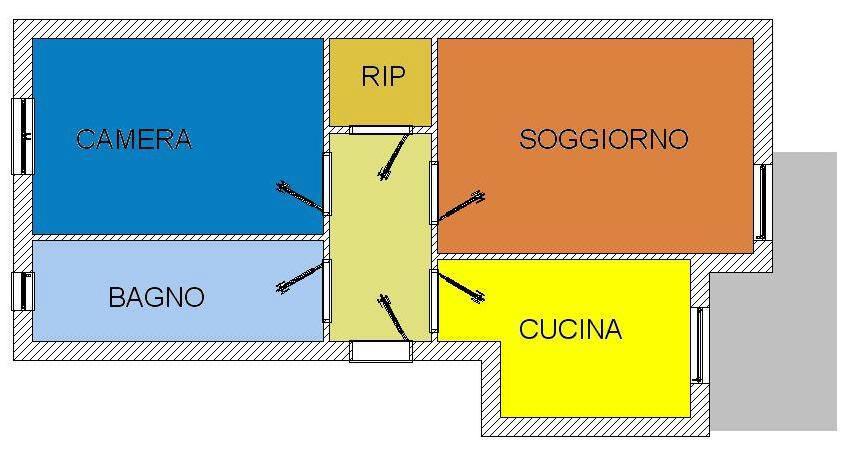 Vendita  bilocale Cinisello Balsamo  1 1153600
