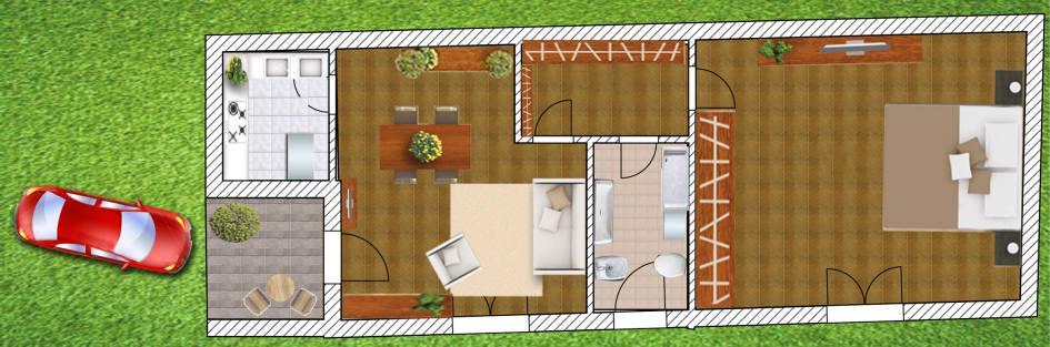 Appartamento in vendita a Lesmo, 2 locali, zona Località: CENTRO, prezzo € 85.000 | Cambio Casa.it