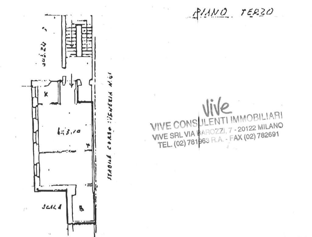 Affitto  bilocale Milano Corso Venezia 1 930617
