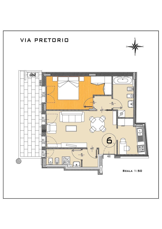 Vendita  bilocale Magenta Piazza Carlo Fontana 1 1114715