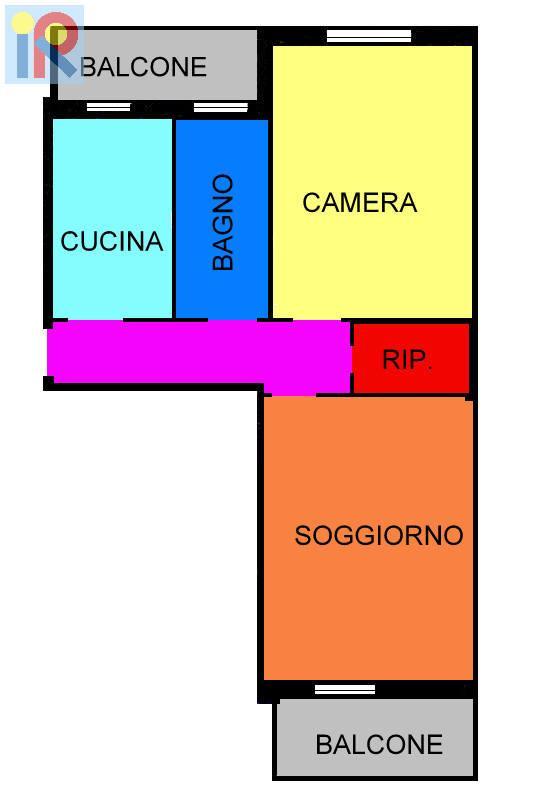 Vendita  bilocale Cinisello Balsamo  1 979382
