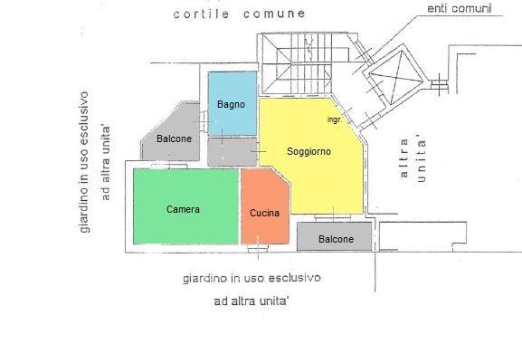 Vendita  bilocale Monza Via Bramante Da Urbino 15 1 907763