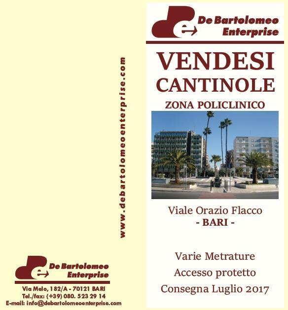 bari vendita quart: picone de-bartolomeo-enterprise