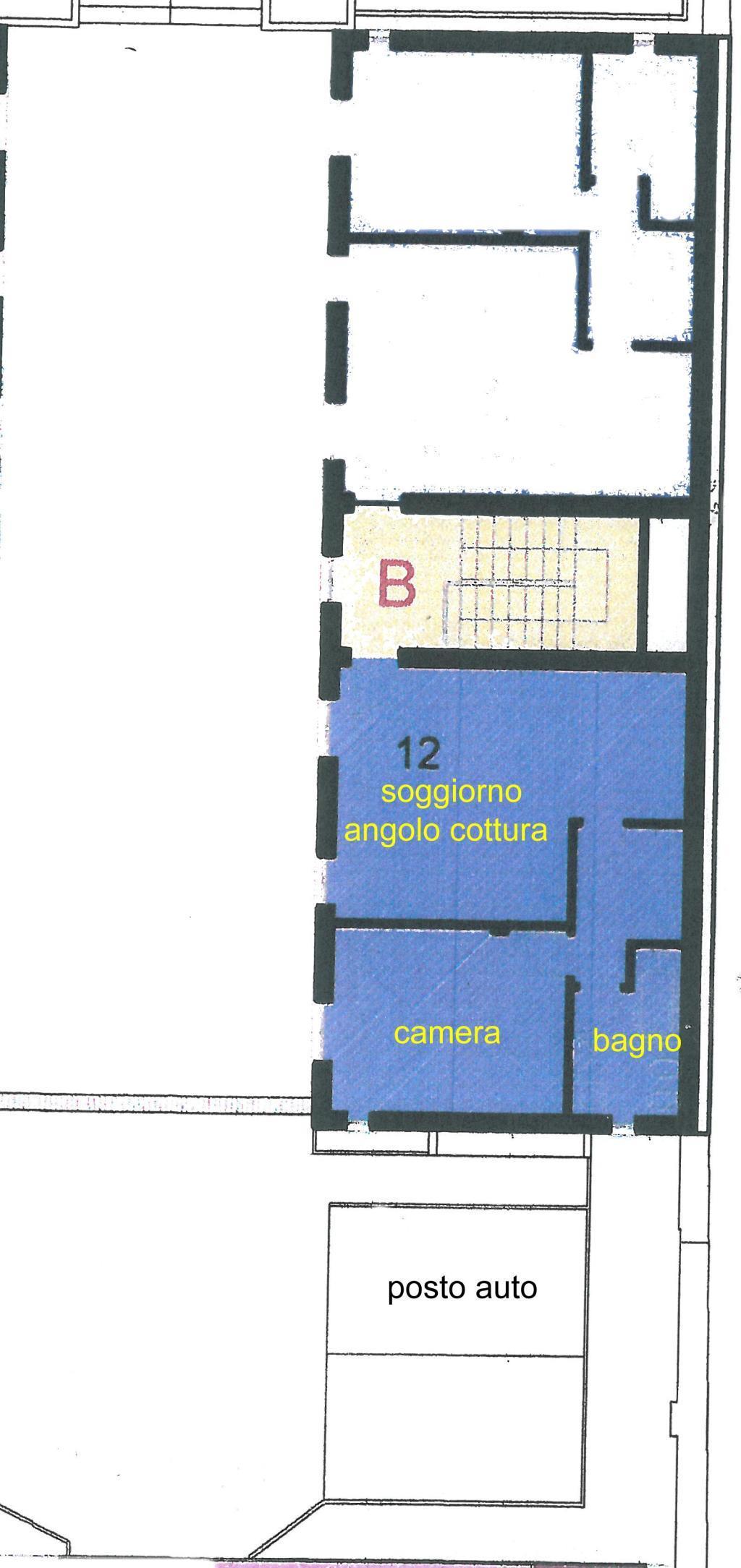 Affitto  bilocale Monza Via Cattaneo 24 1 1089311