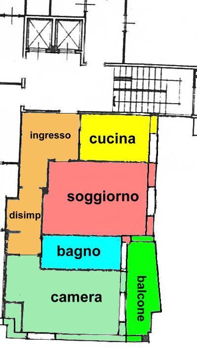 Affitto  bilocale Monza Via Castelfidardo 8 1 1022375