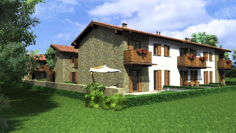 Villa a Schiera in Vendita a Almenno San Salvatore