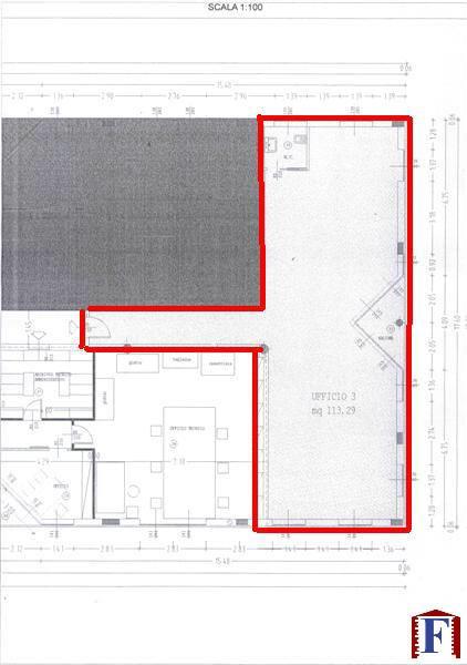 Ufficio / Studio in affitto a Cisano Bergamasco, 1 locali, zona Località: Centro, prezzo € 800 | Cambio Casa.it