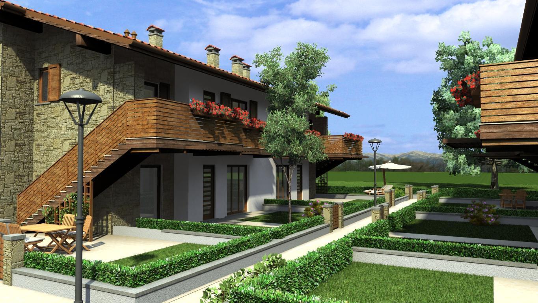 Appartamento in vendita a Almenno San Salvatore, 3 locali, zona Località: centro, prezzo € 240.000 | CambioCasa.it