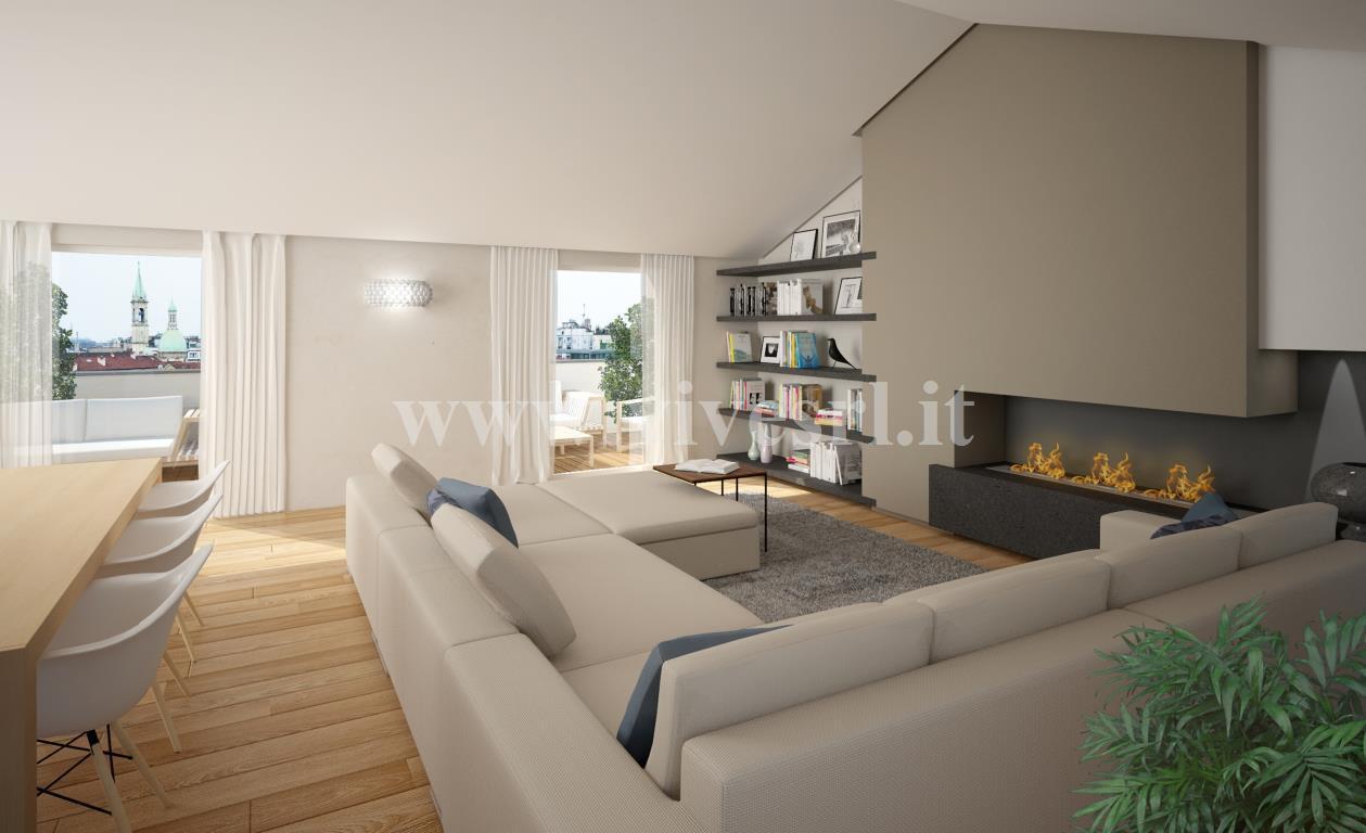 Attici in vendita a milano for Appartamenti milano